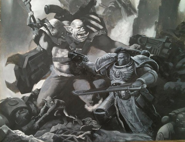 Artwork from The Lord Inquisitor