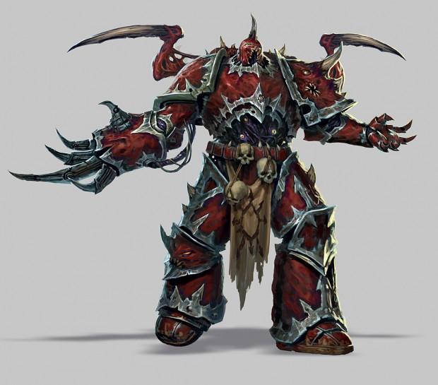 Warhammer 40,000 Eternal Crusade character concept