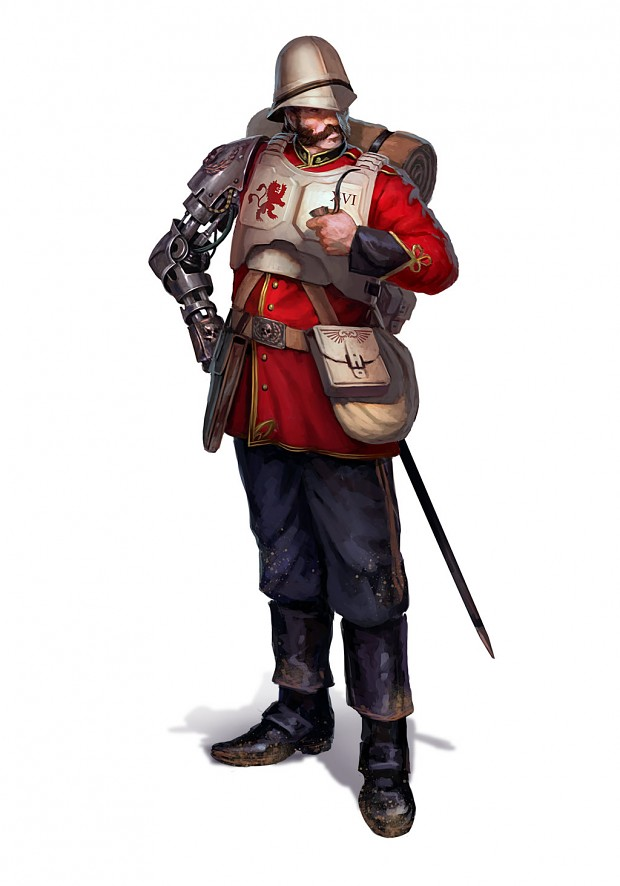 Praetorian Guard:It's just a flesh wound