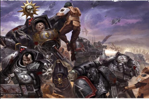 Raven Guard vs Tau from War Zone Damocles: Kauyon