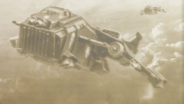 Darkwing Gunship orjust a Raven Gaurd StormEagle?
