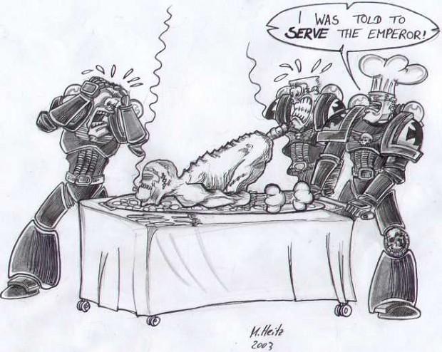 Serve the emperor!