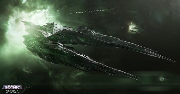 Necron Battleship