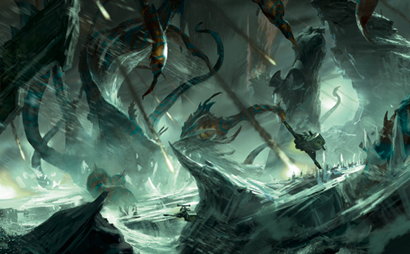 The Gigantic Kraken Of Fenris Image Warhammer 40k Fan