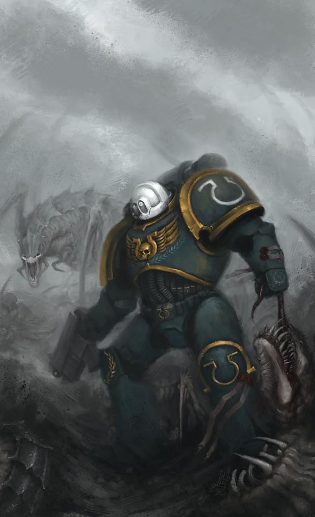 Ultramarines Army Ultramarines image - W...