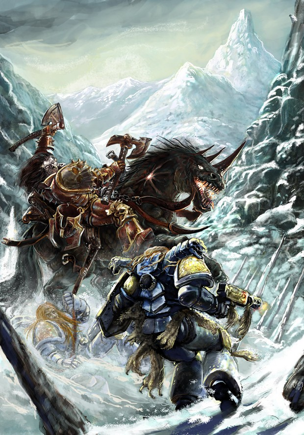 40k Art By Yogh-art Image - Warhammer 40k Fan Group