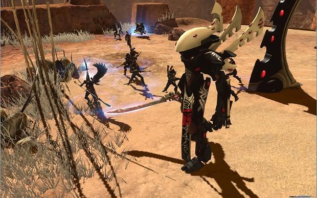 DOWII  Retribution, Eldar Outpost & Wraithlord