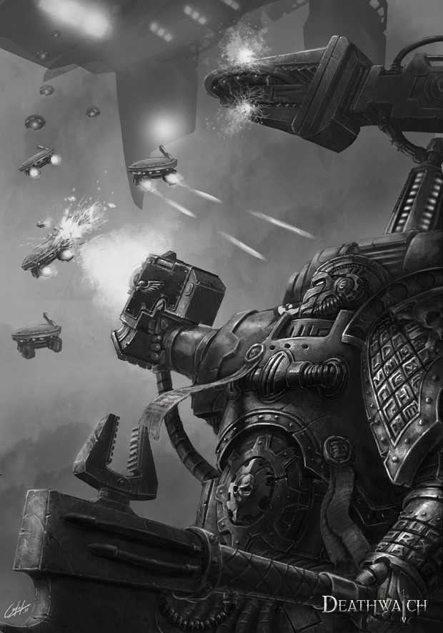 40k art by justaman78