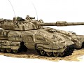Futuristic  Tanks