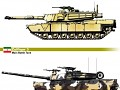 Difference between the M1A1HA and Zulfiqar-3 Tank.