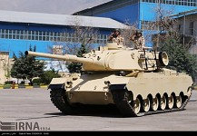 Sabalan Main Battle tank.