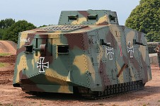 Fully functional A7V replica