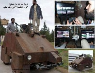 Syrian rebels home made AFV