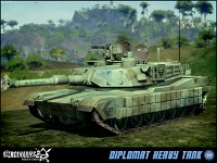 Allied Nations Diplomat Heavy Tank