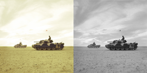 Crusader Tanks at El Alamein 1942