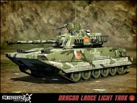 P.L.A. Dragon Lance Light Tank