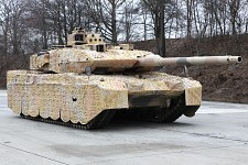 Leopard 2A7 with Barracuda Mobile Camo