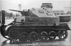 Pz.I Ausf.A mit Pz.Kpfw T-III