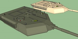 M1 Abrams Block III turret project