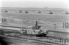 Royal Iraqi Army Churchill Mk VII infantry tank.