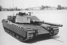 General Motors XM1 prototype.