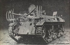 japanese flamethrower tank