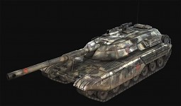 tank* 3D render