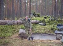 Tree camo tank