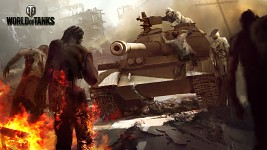 T-62A with zombies!