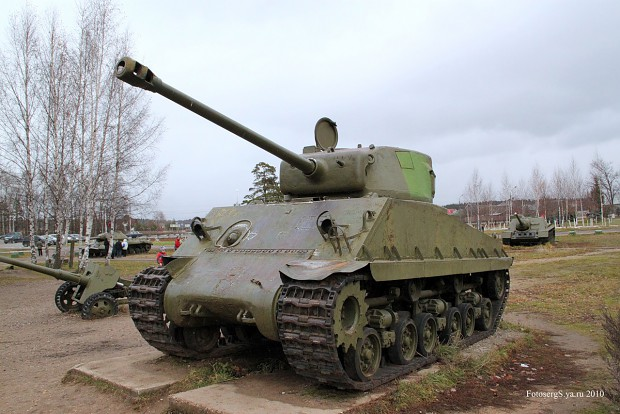 """M4A2E8 """"Easy Eight"""" Land-lease :D"""