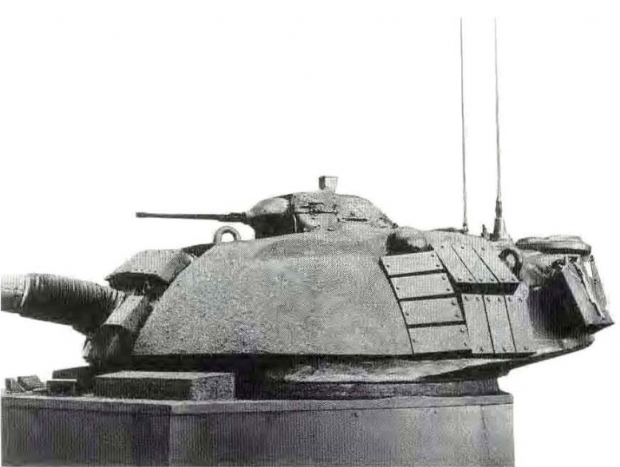 M48A5 turret with VARMA series armor