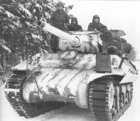 M36 Jackson TD in the Ardennes