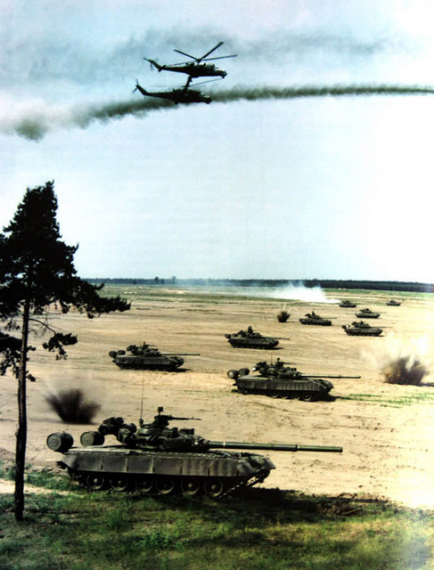 T-72 rush