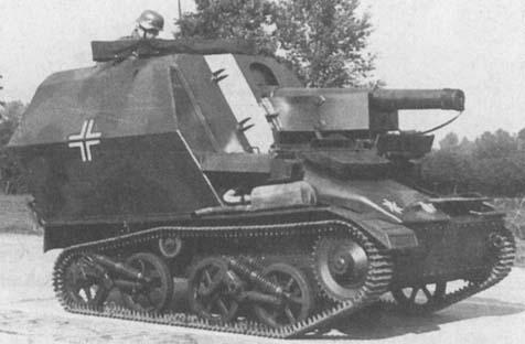 15cm leFh 16auf Fqst Geschutzwagen MkVI (e)