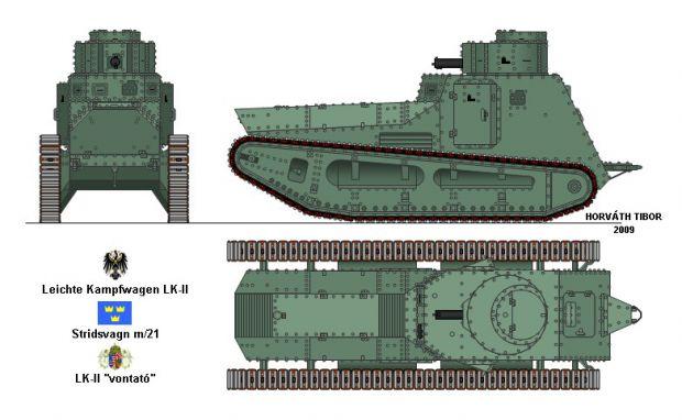 LK II image - Tank Lovers Group - Mod DB