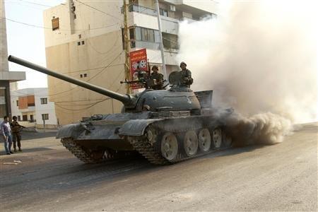 Lebanese Army T-54/55