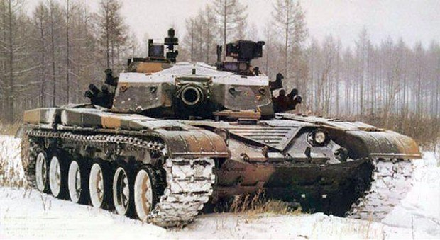 have some tanks