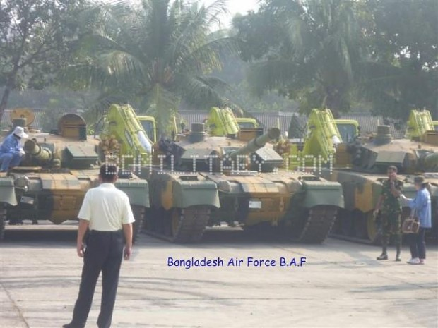 Lineup of MBT-2000