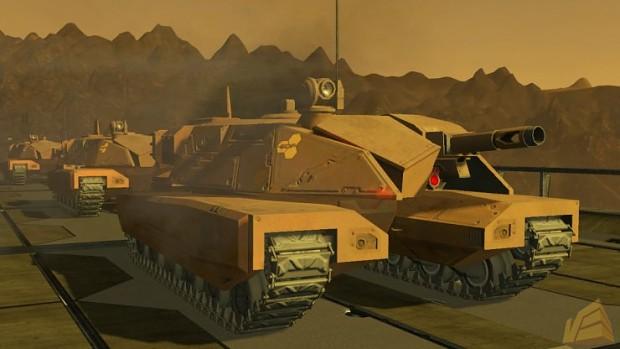 E.D.F. Medium Tank