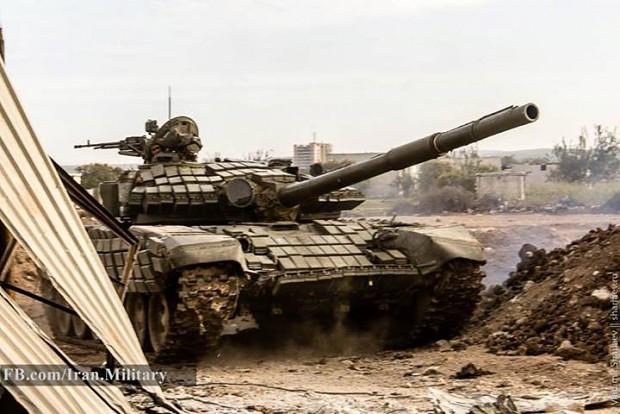 Syrian Arab Army's T-72AV
