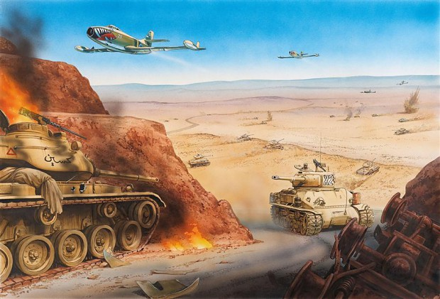 Big Valley Ford >> The battle of the Dothan Valley, 6 June 1967 image - Tank Lovers Group - Mod DB