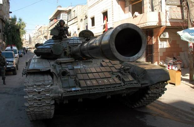 Syrian Army T-72AV