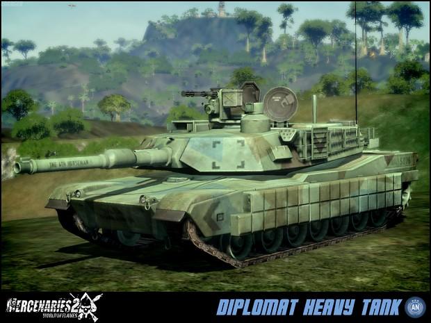 Allied Nations Diplomat Heavy Tank