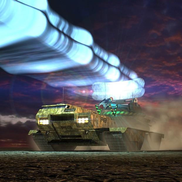 Disruptor tank