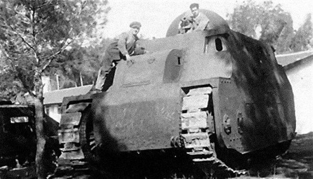 fiat 2000 image - tank lovers group