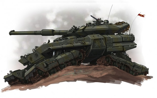 C.O.P Vehicles of War Futuristic_5