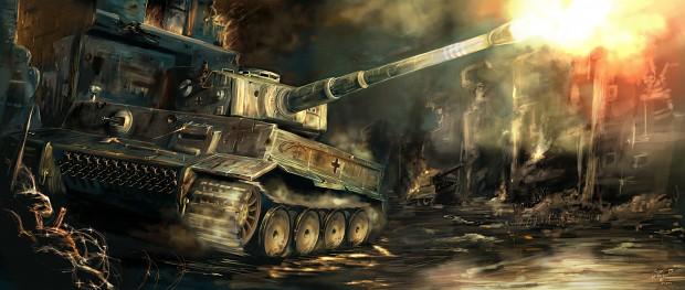 Panzerkampfwagen ausf. E Tiger I  art