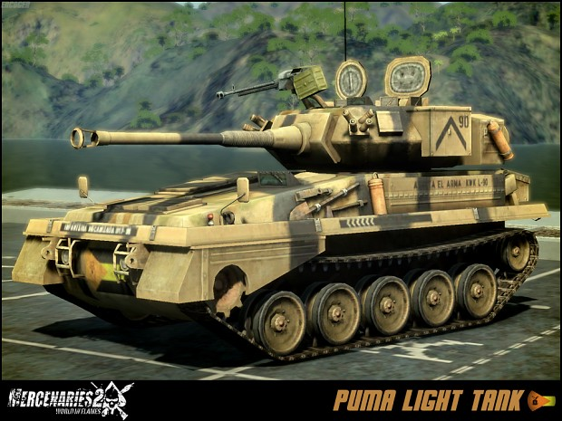 Venezuelan Army Puma Light Tank