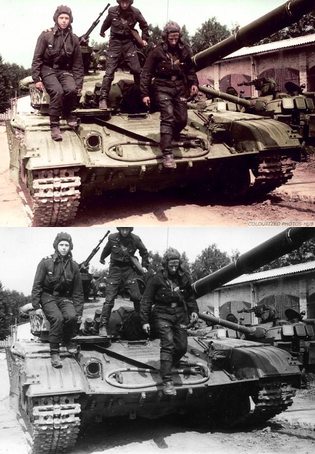 Soviet T-64 1972.