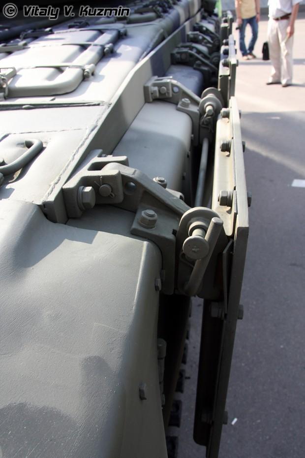 T-90S Kontakt-5 ERA plates.(Left side)